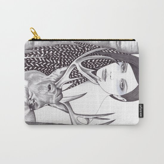 Silver Forest Carry-All Pouch