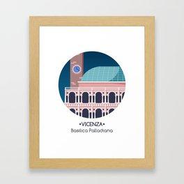 Vicenza - Basilica Palladiana Framed Art Print