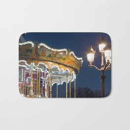 Around the Carrousel  Bath Mat