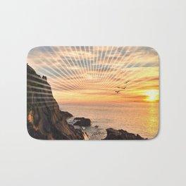 Californian sunset - Graphic sunset Bath Mat