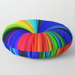Colours of a Rainbow Floor Pillow