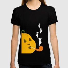 Halloween Smoking Jack o Lantern T-shirt