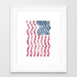 Days Of Old America Framed Art Print