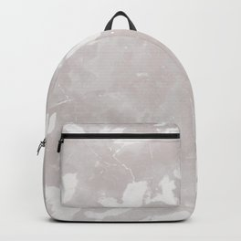 Gray marble texture background. Backpack