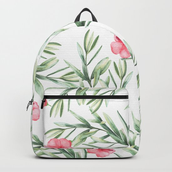 Delicate Hibiscus Backpack
