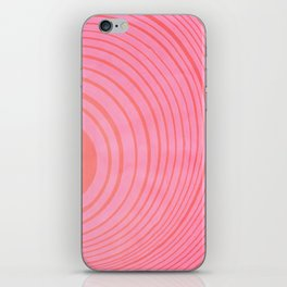 Strawberry Circles iPhone Skin