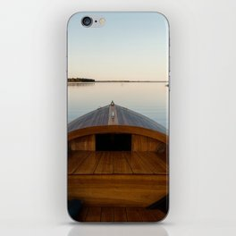 Summer Mornings On The Lake iPhone Skin
