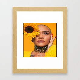 Kehlani 24 Framed Art Print