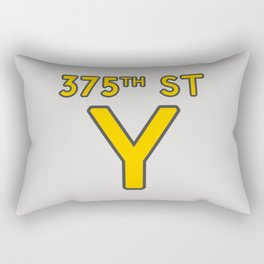 375th Street Y Rectangular Pillow