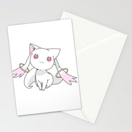 Kyubey Cat Stationery Cards