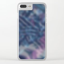 Abstract 208 Clear iPhone Case
