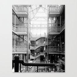 Bradbury Building, Downtown Los Angeles Canvas Print
