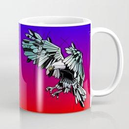 Geometric eagle Coffee Mug