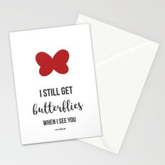 Still Get Butterflies Stationery Cards