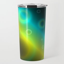 Bubbles Abstract Background G115 Travel Mug
