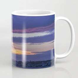 Provincetown Sunset in Blue and Purple Coffee Mug