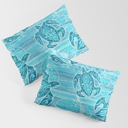 Hawaiian Tribal Honu's Pillow Sham