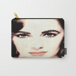 Elizabeth Taylor Face Carry-All Pouch
