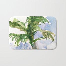 Tulum Swaying Palm Tree Bath Mat