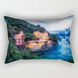 Portofino Che Bellezza! Rectangular Pillow