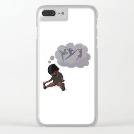 Aspiration Clear iPhone Case