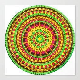 Autumn Mandala Canvas Print
