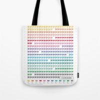 calendar Tote Bags featuring Calendar 2014 by neuprouns