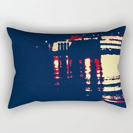 Dark Arrivals - Ferry series I Rectangular Pillow