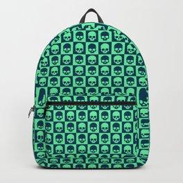 Checkered Skulls Pattern III Backpack