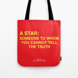 Howlin' Mad Murdock's 'A Star...' shirt Tote Bag