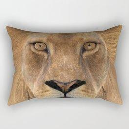 Male Lion Rectangular Pillow