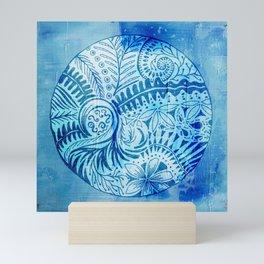 New Zealand inspired Mandala Mini Art Print