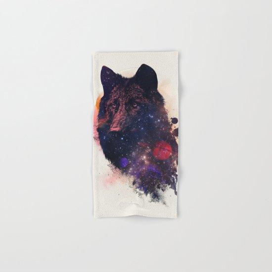 Universal Wolf Hand & Bath Towel