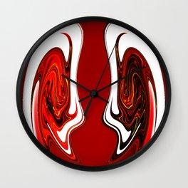 Polarized Views Wall Clock