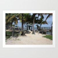 Florida Paradise Art Print