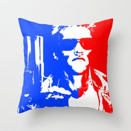 I'll Be Back... in Pop! Throw Pillow