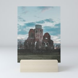 Medieval church Mini Art Print