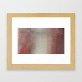 ABSTRACT PIXELS #0020 Framed Art Print