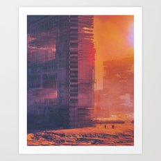 SUBSET.80 (everyday 02.06.16) Art Print
