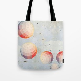 I found you falling from the sky Tote Bag