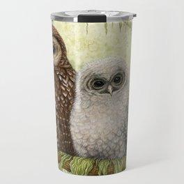Northern Spotted Owls Travel Mug