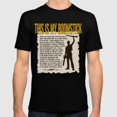 Evil Dead  |  Army of Darkness / Full Metal Jacket Mashup  | This Is My Boomstick LARGE Black Mens Fitted Tee