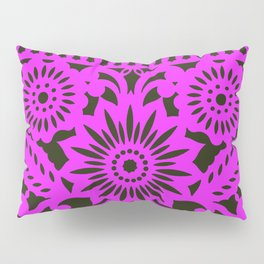 Papel Picdo - Pink + Black Pillow Sham