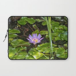 Exquisite water lily Laptop Sleeve