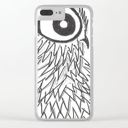 Owl 4 Clear iPhone Case