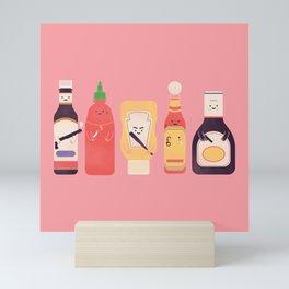 Ex-Condiments Mini Art Print