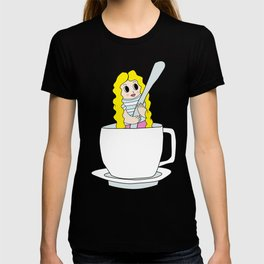 Biondina at coffee time T-shirt