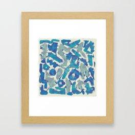 Pattern № 36 Framed Art Print