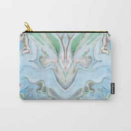 Pastel Colors Marbleized Background Carry-All Pouch
