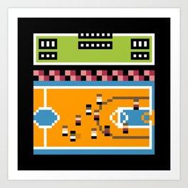 Minimal NES: Double Dribble Art Print